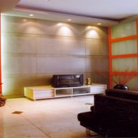 木工裝潢-電視牆照片
