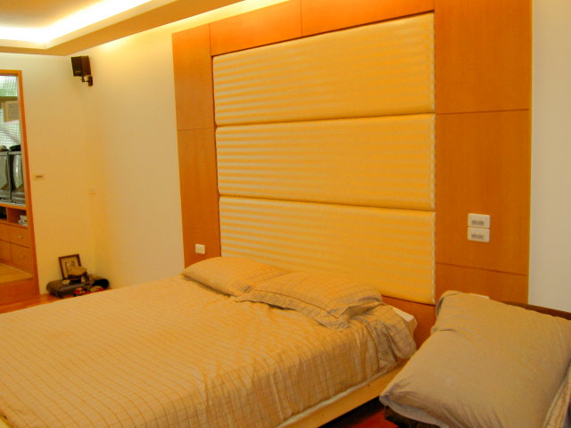 木工裝潢-床頭造型牆