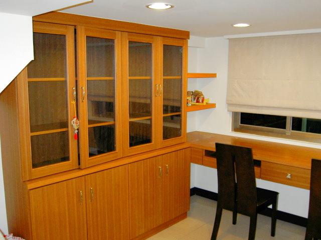 木工裝潢-書櫃書桌裝潢