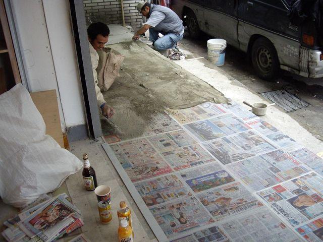 補習班裝潢水泥工程