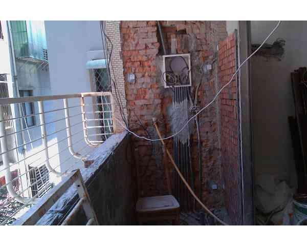 北投溫泉路舊屋裝修施工圖片