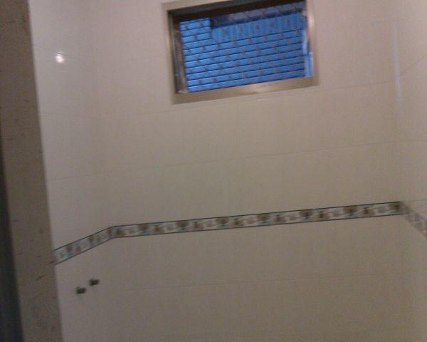 浴室磁磚施工圖片