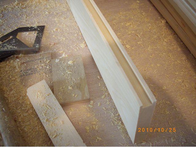 木工榫卯工法-臺面邊框接合
