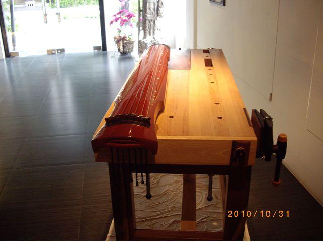 木工作品-那位木匠的琴桌