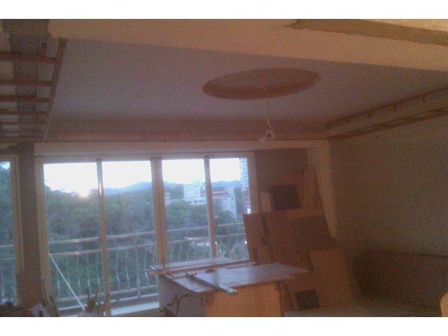 木工装潢-圆形天花板