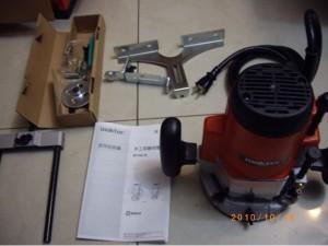 木工雕刻機本體及附件