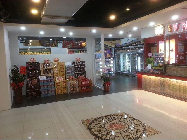 地下街店面裝潢-越南商店