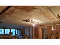木工裝潢-弧形天花板
