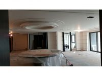 接待所裝潢-多層圓形天花板