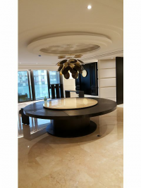 招待所裝潢-圓型天花板