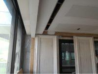 木工裝潢-天花板線型出風