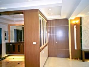 木工裝潢-餐廳展示櫃