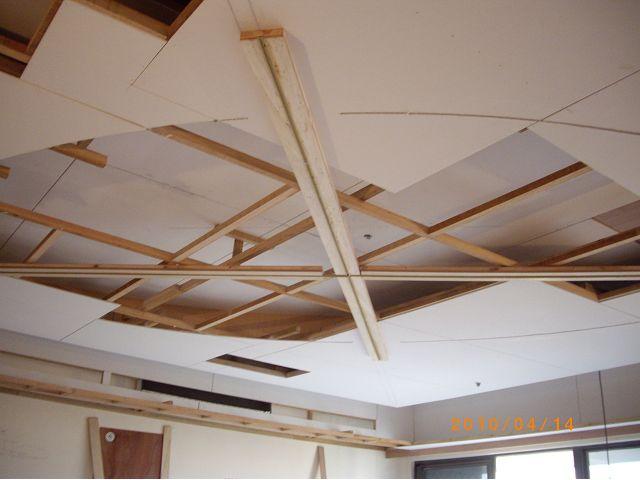 木工裝潢-橢圓形天花板