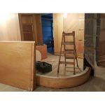 木工裝潢-弧形造型牆