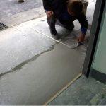水泥工程-抿石子施工照片